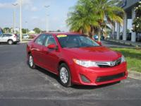 2014 Toyota Camry L E, Low Miles, Extra Clean,