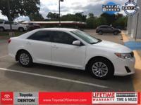 Free Lifetime Powertrain Warranty on ALL New Toyota's!