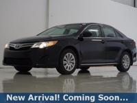 2014 Toyota Camry LE in Attitude Black, This Camry