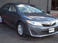 This 2014 Toyota Camry 4dr LE features a 2.5L 4