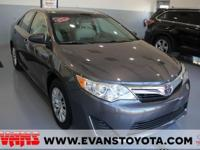 Clean CARFAX. Certified. GRAY 2014 Toyota Camry LE FWD