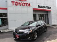 Black 2014 Toyota Camry LE FWD 6-Speed Automatic 2.5L