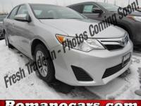 Load your family into the 2014 Toyota Camry! A great