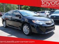 Options:  2014 Toyota Camry Le|Attitude Black