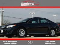 2014 Toyota Camry LE in Attitude Black, **ONE OWNER**,