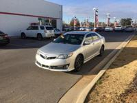 This outstanding example of a 2014 Toyota Camry SE is