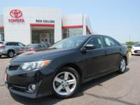 This 2014 Toyota Camry comes equipped with Bluetooth,