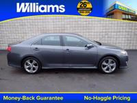 Options:  2014 Toyota Camry Se|Gray|Clean Vehicle