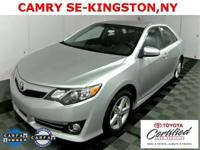Camry SE, 4D Sedan, 6-Speed Automatic, ABS brakes, Air