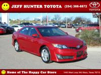 New Arrival! This 2014 Toyota Camry SE will sell fast