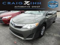 New Arrival! This Toyota Camry is Certified Preowned!