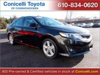 CarFax 1-Owner, LOW MILES, This 2014 Toyota Camry SE