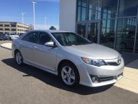 Silver 2014 Toyota Camry SE FWD 6-Speed Automatic 2.5L