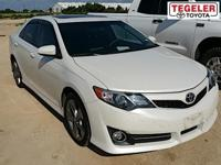 White 2014 Toyota Camry FWD 6-Speed Automatic 2.5L I4