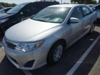 Recent Arrival! 2014 Toyota Camry L 2014.5CARFAX