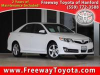 CARFAX One-Owner. Clean CARFAX. White 2014 Toyota Camry