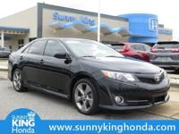 Options:  2014 Toyota Camry Se Sport|Black|Recent
