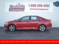 Options:  2014 Toyota Camry|Aluminum/Alloy Wheels|Clean