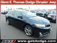 *Here we have a 2014 Toyota Camry SE. Toyota is one of