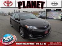 Certified. CARFAX One-Owner. Toyota Certified, Black,