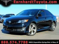 We are delighted to offer you this2014 TOYOTA CAMRY SE