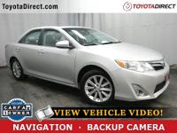 2014 Toyota Camry XLE TOYOTA CERTIFIED! CARFAX VERIFIED