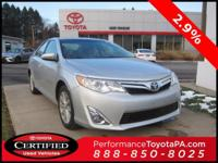 ONE OWNER!! 2014 TOYOTA CAMRY XLE!! TOYOTA CERTIFIED 7