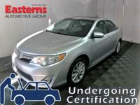 Options:  2014 Toyota Camry Xle|Silver|2014 Toyota
