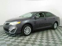 Just Reduced! This 2014 Toyota Camry in Magnetic Gray