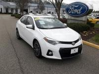 CLEAN CARFAX 1 OWNER2014 TOYOTA COROLLA S TRIM