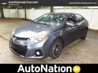 This GORGEOUS Corolla is virtually brand new! With