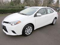 TOYOTA CERTIFIED, CLEAN CARFAX, Backup Camera,