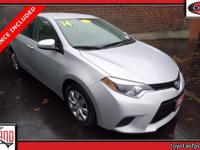 CARFAX One-Owner. Features: **THIS VEHICLE IS TOYOTA