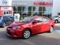 2014 Toyota Corolla LE *** RED HOT SUMMER INVENTORY