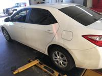 We are excited to offer this 2014 Toyota Corolla. How