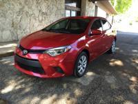 Options:  2014 Toyota Corolla Below Market Value!!!..No