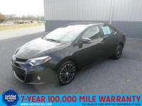 This 2014 Toyota Corolla 4dr Sdn CVT S Plus is proudly