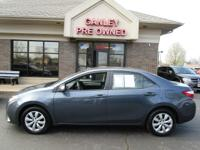 One Owner. 2014 TOYOTA COROLLA LE, 1-OWNER AND ONLY