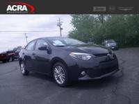 2014 Toyota Corolla, key features include: a