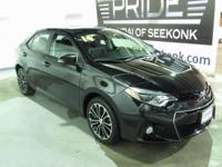 Check out this 2014 Toyota Corolla S Plus!!!  It is