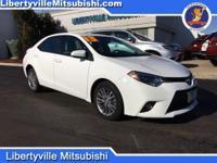 Options:  2014 Toyota Corolla L|White|Recent Arrival!