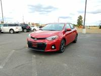 Options:  2014 Toyota Corolla L 6-Speed Mt|Red|29|509