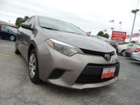 Priced below Market! This Toyota Corolla is CERTIFIED!