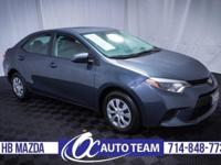 Extra clean, affordable 2014 Toyota Corolla L. Full