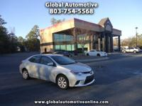 Options:  2014 Toyota Corolla One Owner Back Up Camera