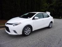 ECONOMICAL CERTIFIED COROLLA LE MODEL. CLEAN CARFAX,