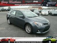 Come test drive this 2014 Toyota Corolla! Worthy