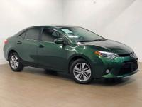 Looking at a super clean 2014 Toyota Corolla LE Eco