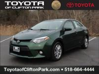 CARFAX One-Owner. 4Evergreen Mica 2014 Toyota Corolla