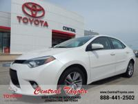 **TOYOTA CERTIFIED** LE ECO PLUS! ONE OWNER! LOCAL